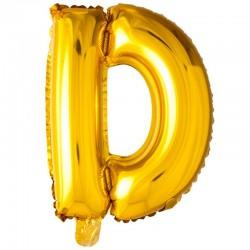 41 cm guld folie balloner bogstav D