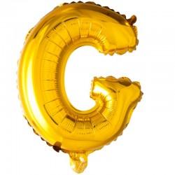 41 cm guld folie balloner bogstav G
