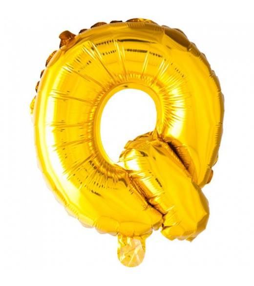41 cm guld folie balloner bogstav Q