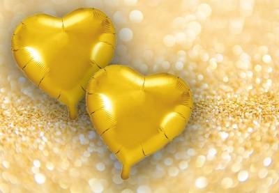 Balloner til guldbryllup