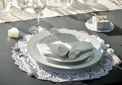 Dækkeservietter til bryllup