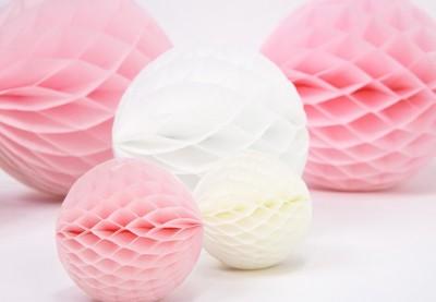 20 Cm Honeycomb papirbolde