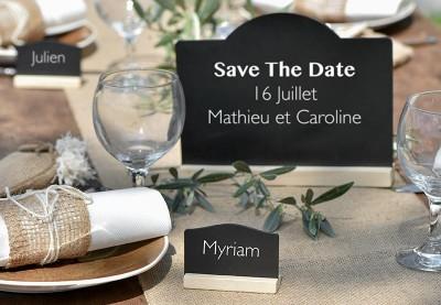 Info menu tavler