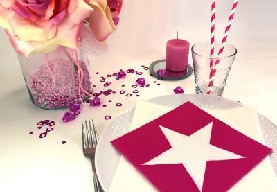 Stjerne servietter