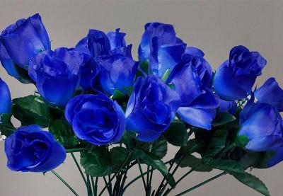Store kunstige roser