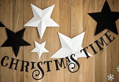 Julepynt til bordet