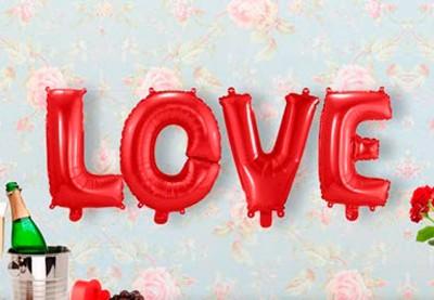 Valentines pynt | Køb romantisk dekoration til Valentinsdag her