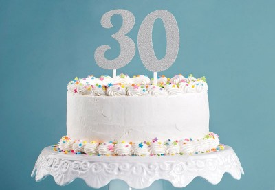 30 års fødselsdag pynt | Køb flot fødselsdagspynt til 30 år her
