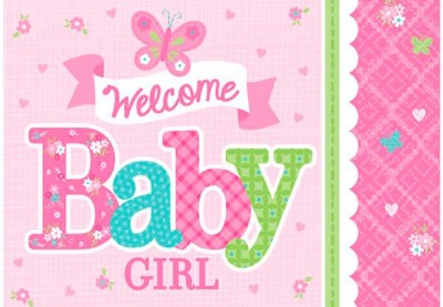 Welcome baby girl
