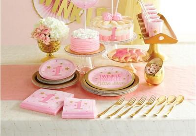 Twinkle twinkle lyserød tema