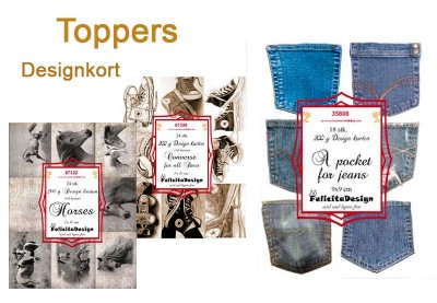 Toppers Designkort
