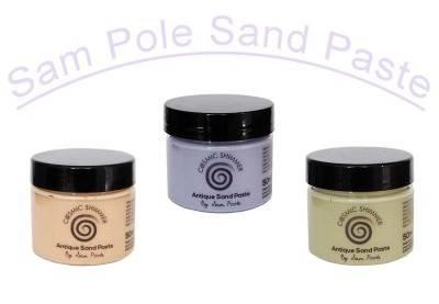 Køb Cosmic Shimmer, Sand Paste til scrapbooking I Dreamshop