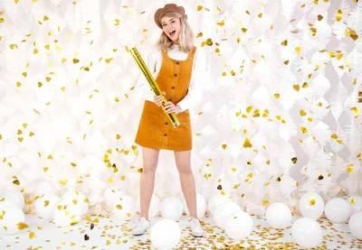 Guld konfetti ✔️ Billig fragt 1 dags levering - Dreamshop
