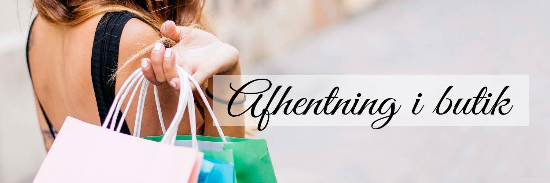 Afhentning af varer i butik i Næstved