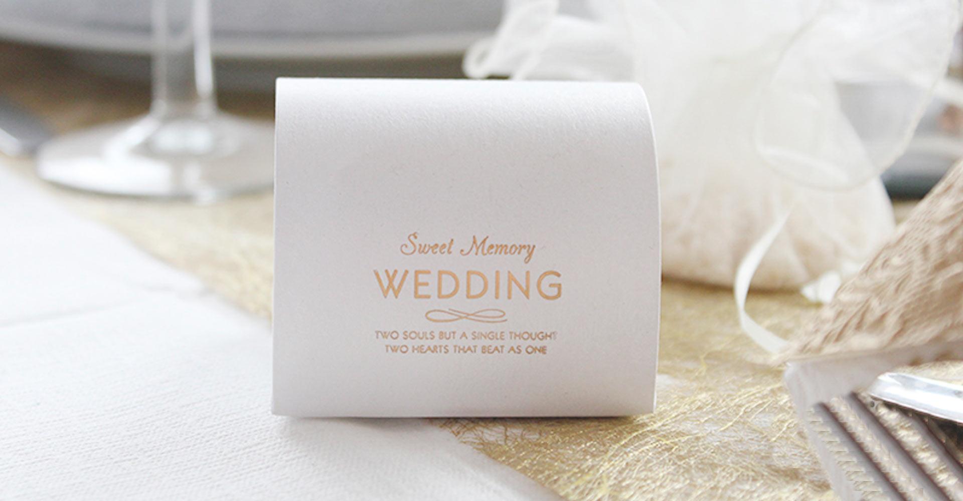 Wedding favor æske